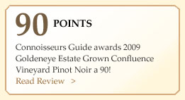 90 Point Confluence Pinot Noir