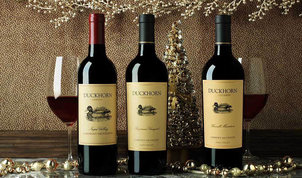 Tinsel, Tidings and Tastings at Duckhorn