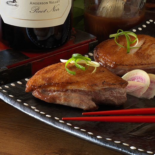 Grilled Duck with BBQ Sauce