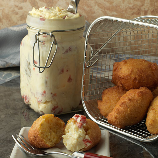 Pimento Cheese Hushpuppy