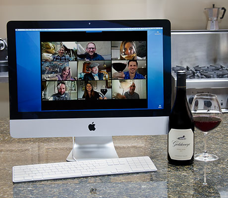 virtual tasting with goldeneye
