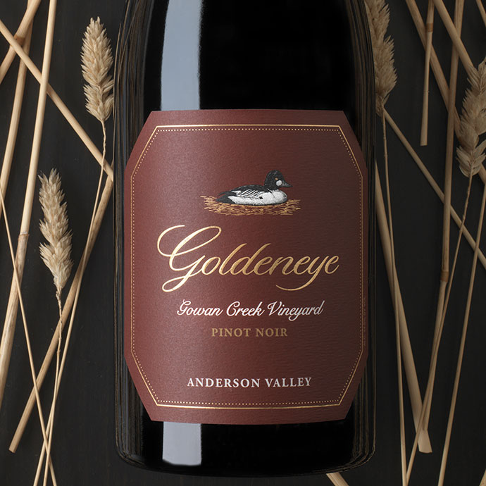 2015 Goldeneye Gowan Creek Vineyard Pinot Noir