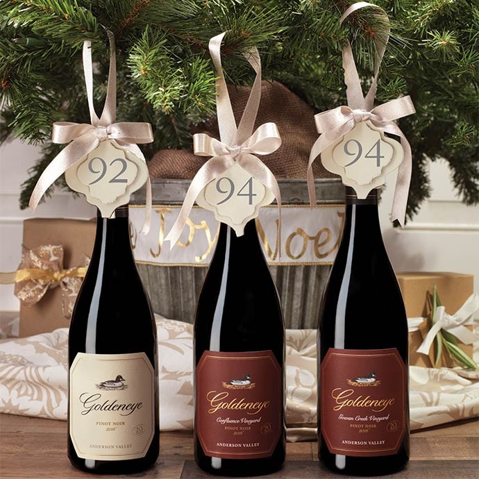 Goldeneye Anderson Valley Pinot Noir wines with 90+ points