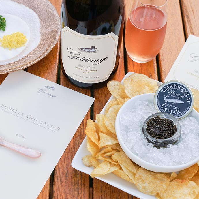 Elevated Tasting Experiences: A Toast to Bubbles and Caviar