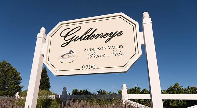 Goldeneye Winery History