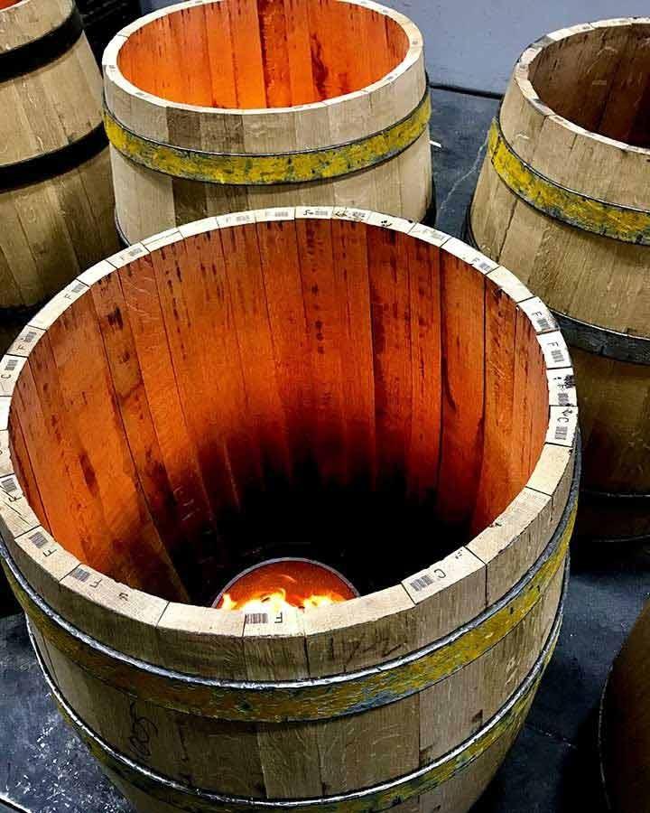 Goldeneye toasted barrels