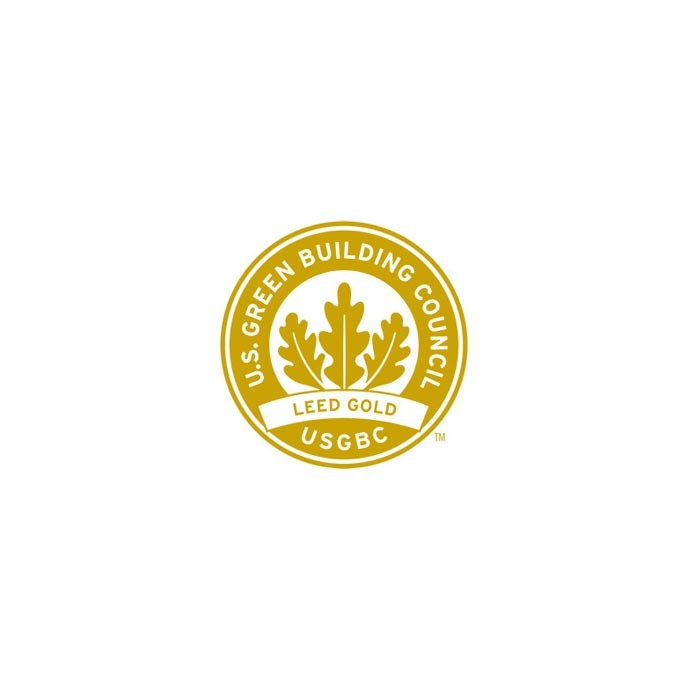 Leadership in Energy and Environmental Design Gold logo