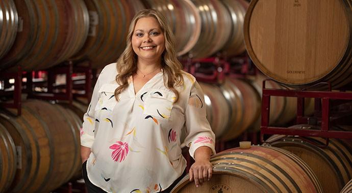 Winemaker Kristen McMahan