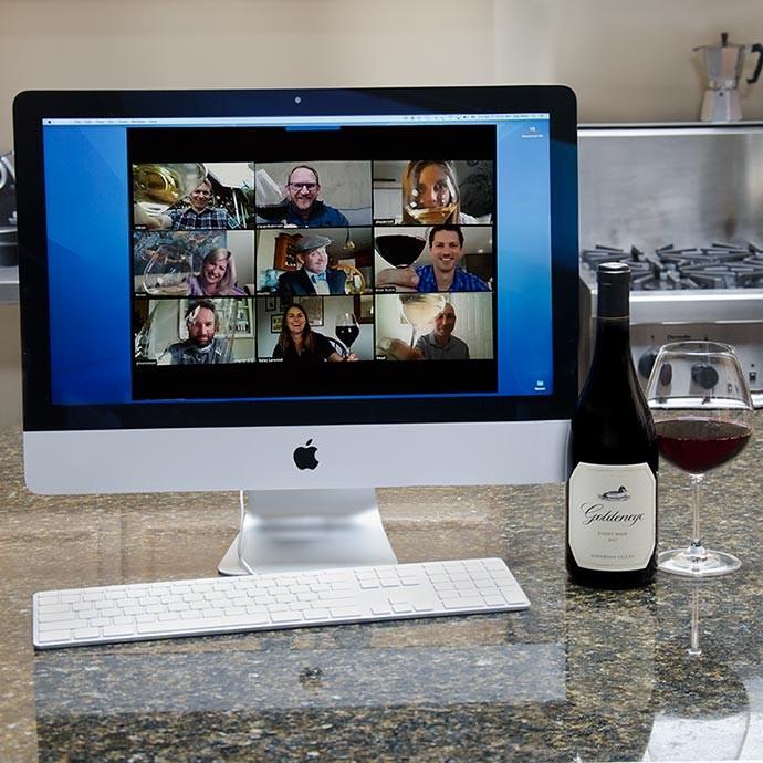 Virtual Wine Tastings with Goldeneye